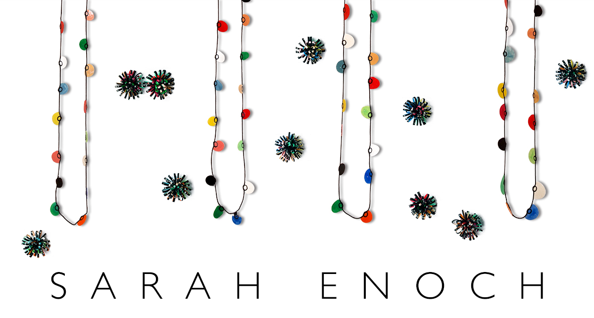 Sarah Enoch, Looping Necklaces and Florideae Earrings