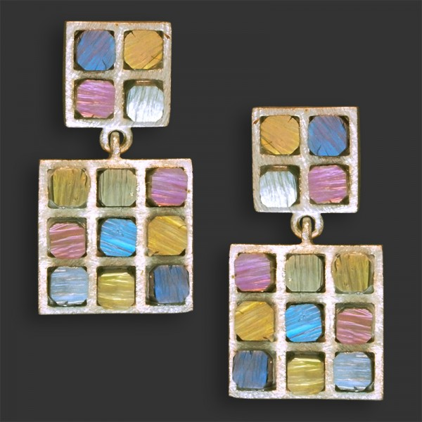 Jose Marin, Titanium Series Earrings #P015
