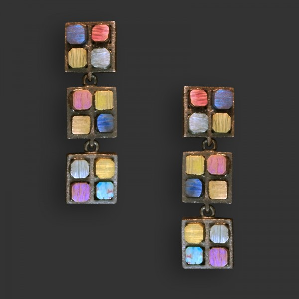 Jose Marin, Titanium Series Earrings #P017