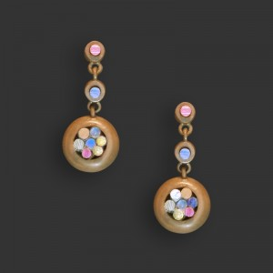 Jose Marin, Titanium Series Earrings #P026