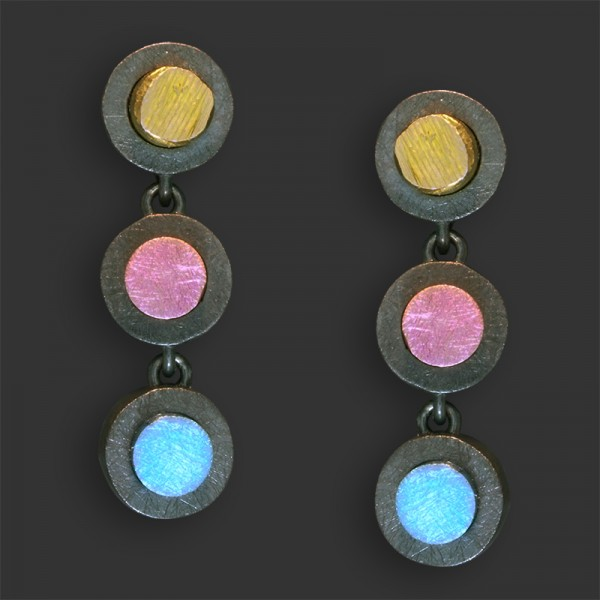 Jose Marin, Titanium Series Earrings #P046