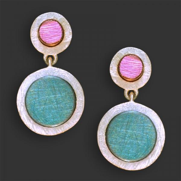 Jose Marin, Titanium Series Earrings #P047