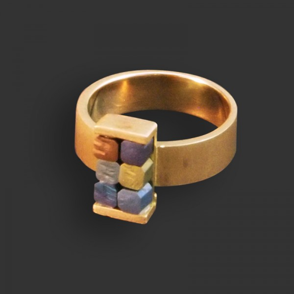 Jose Marin, Titanium Series Ring #005