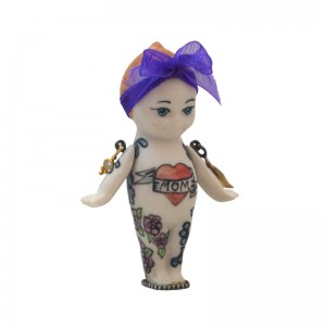 Melinda Risk, Tattooed Lady Kewpie