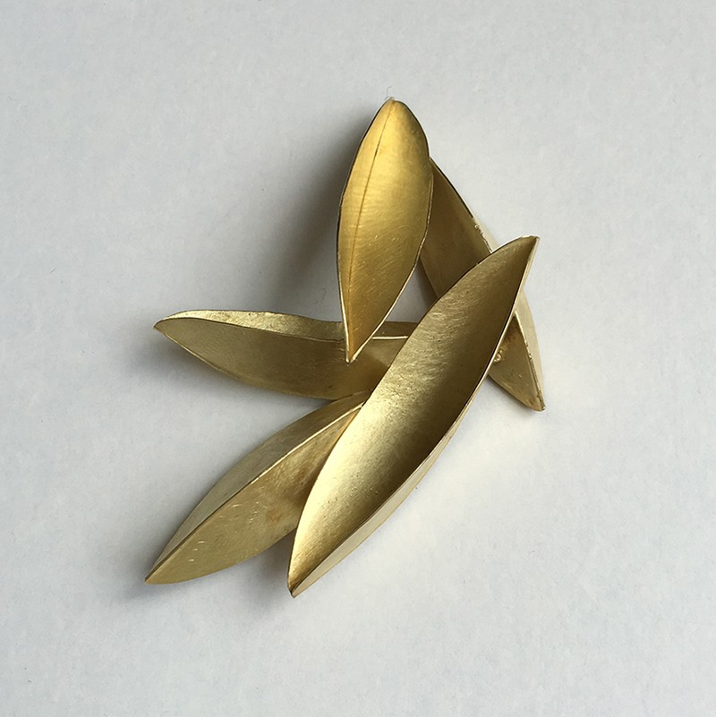 Seedpod Brooch