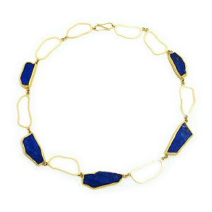 Petra Class, Lapis Necklace