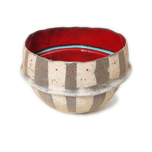 Sarah Perkins, Dehli Stripes Bowl, Grebe Lake