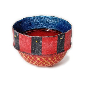 Sarah Perkins, Dehli Stripes Bowl Red
