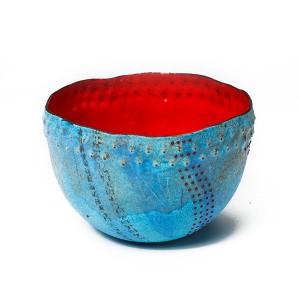 Sarah Perkins, Turquoise Caverns Bowl