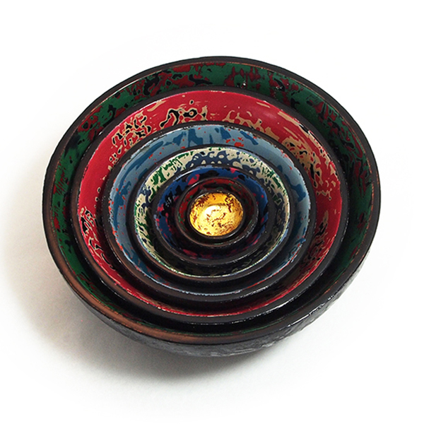 Yoko Zeltserman-Miayji, Lidded, Nesting Bowl Set