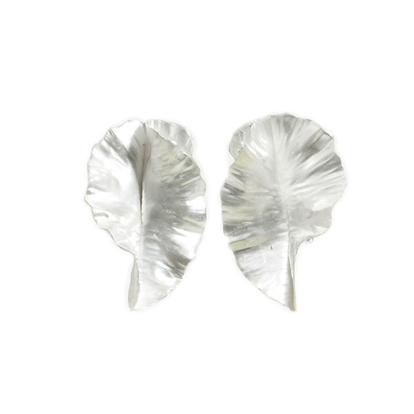 Sue Aygarn-Kowalski, Leaf Earrings