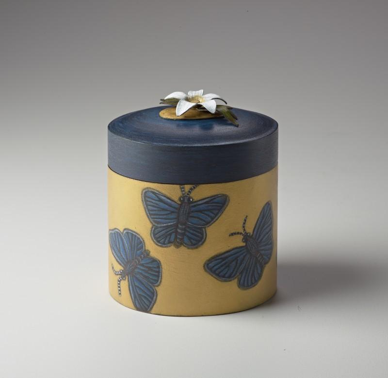 Marilyn da Silva – Sister Box: Silver-studded Blue Butterfly
