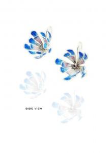 Yuri Tozuka - Flower Earrings SideView
