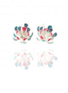 Yuri Tozuka Flower Earrings