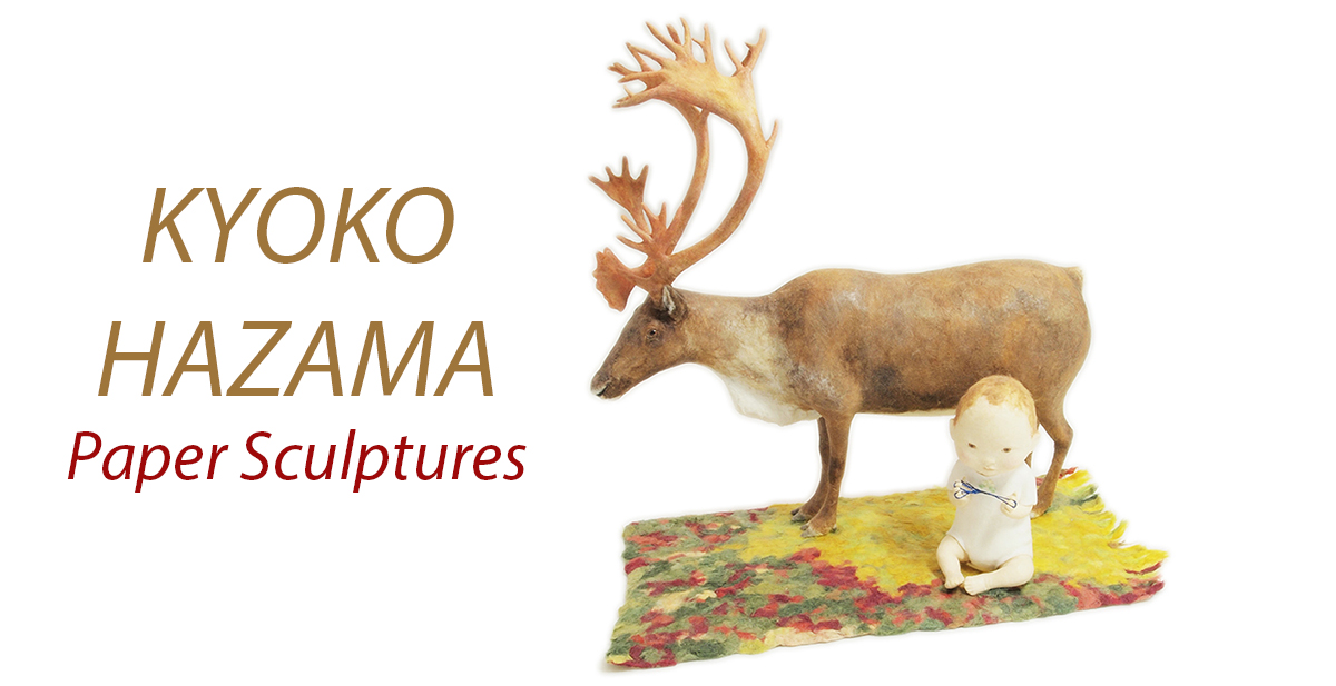 Kyoko Hazama Paper Sculptures