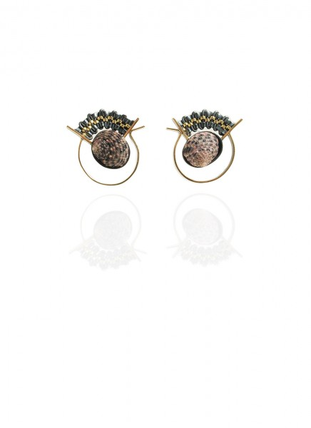 Hanne Behrens Shell 1 Earrings