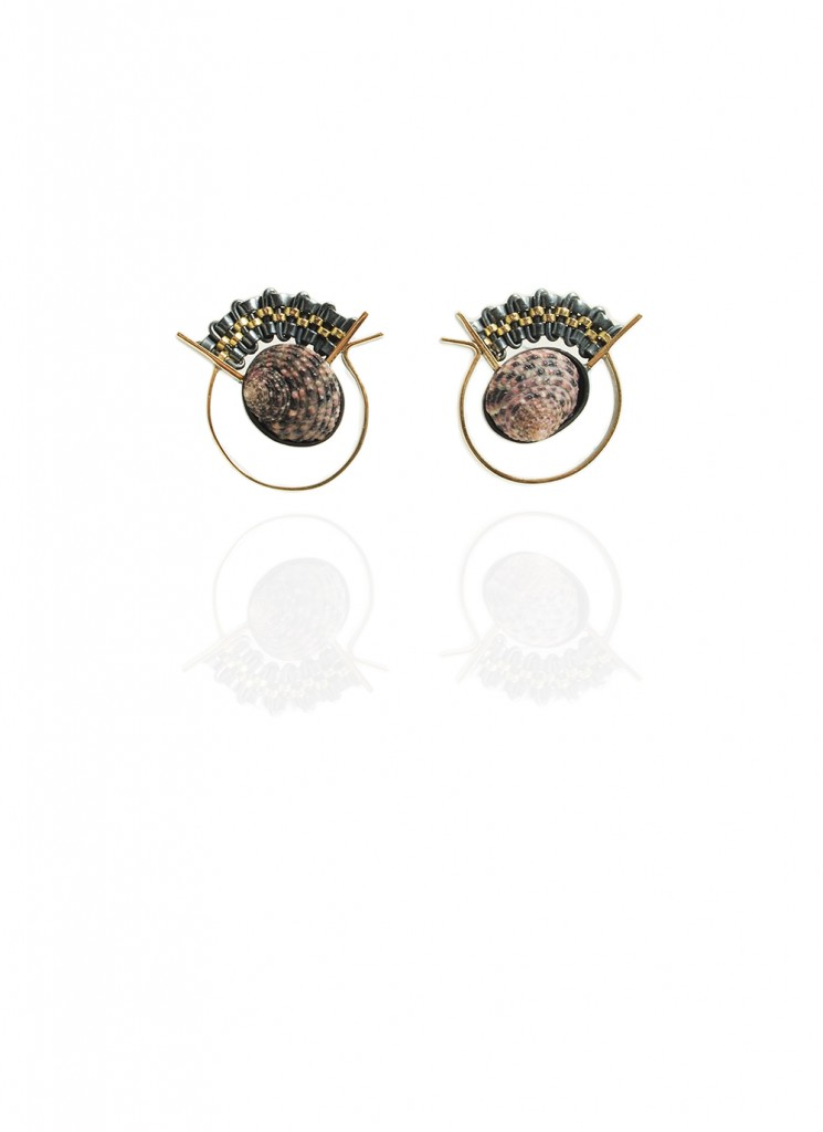 Hanne Behrens Shell 1 Earrings