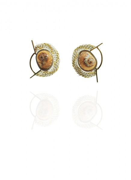 Hanne Behrens Shell 2 Earrings