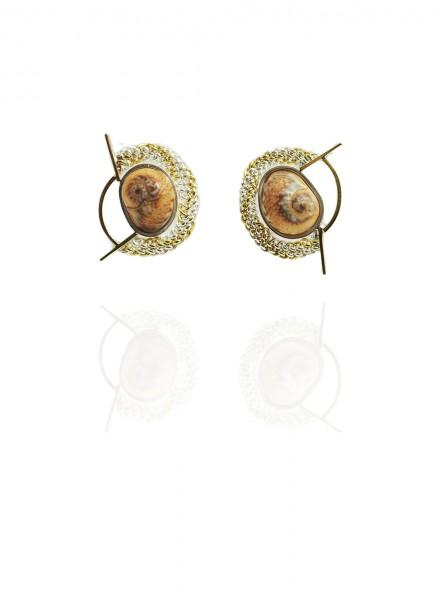 Hanne Behrens Shell 2 Earrings