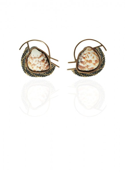 Hanne Behrens Shell 4 Earrings