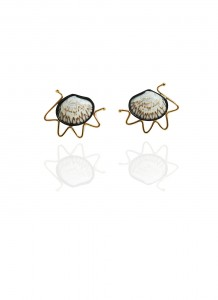 Hanne Behrens Shell 5 Earrings
