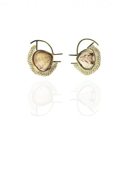 Hanne Behrens Shell 7 Earrings