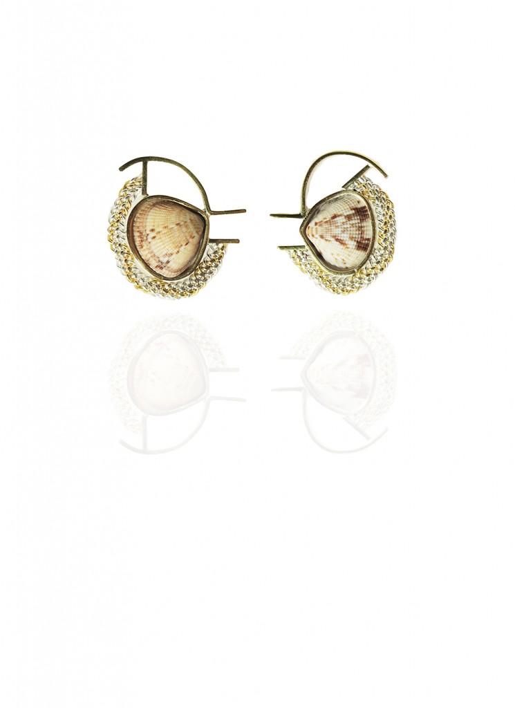 Hanne Behrens Shell 7 Earrings