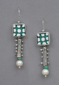 Gone Dottie Earrings, Denise Barr
