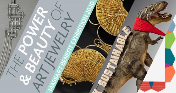 The Power and Beauty of Art Jewelry: MassArt Benefit Exhibition and Sale