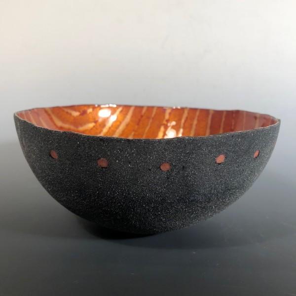 Striped Interior Bowl
