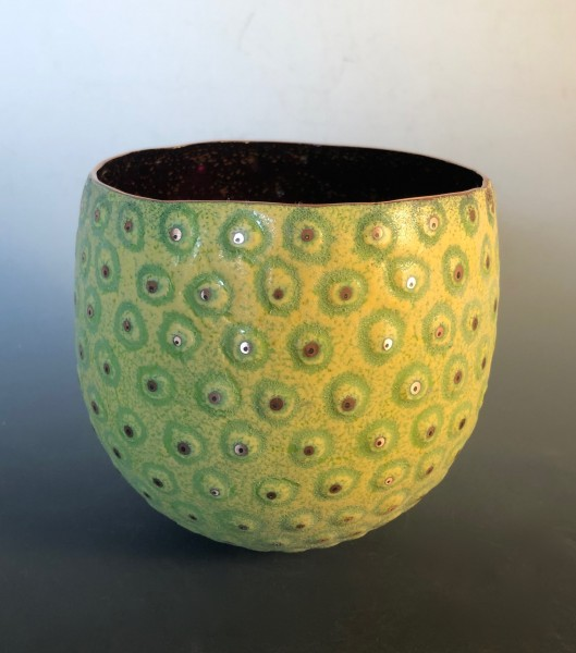 Yellow Toad Bowl
