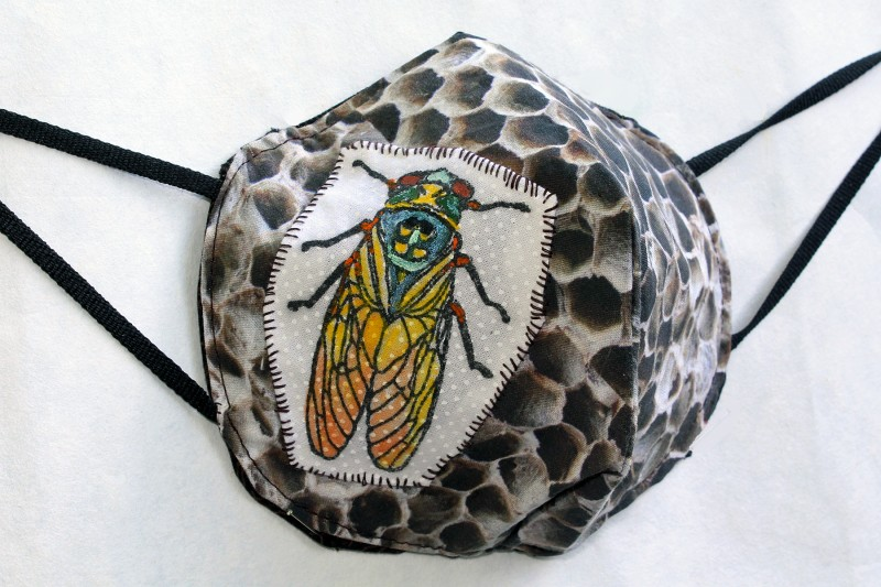 Insect Nature Mask Sideview