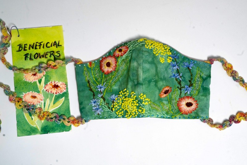 Beneficial Flowers Mask-2
