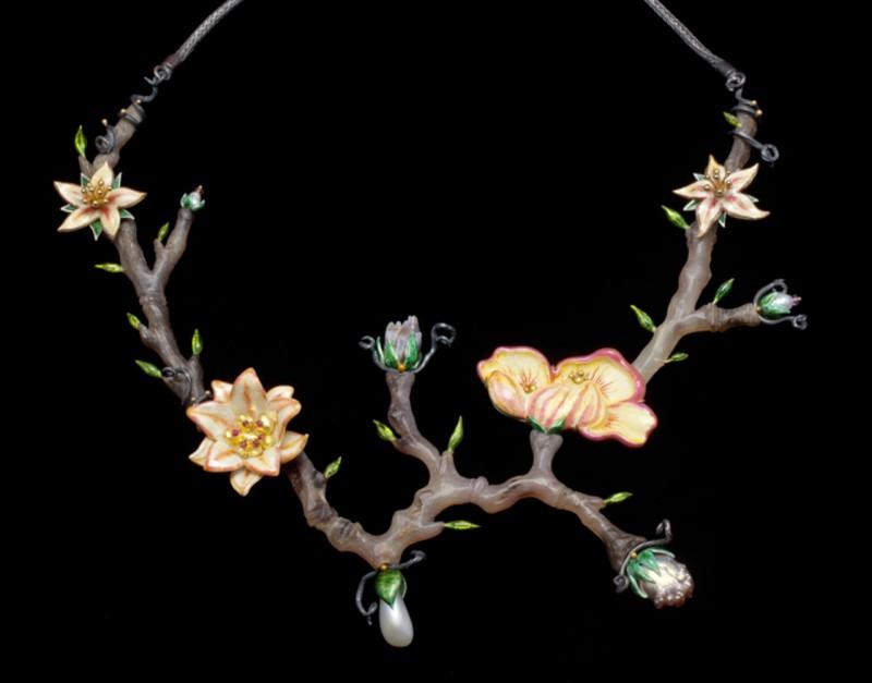 Enameled-Necklace