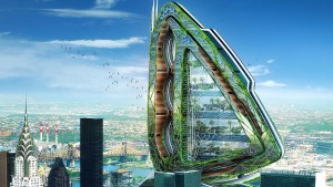 Dragonfly, Design by Vincent Callebaut