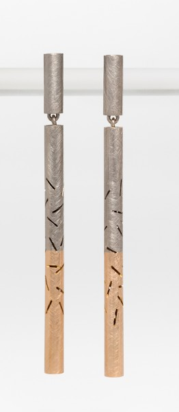Sashiko earrings.1