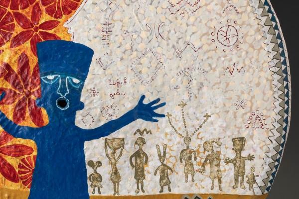 Blue Fez 0615 detail