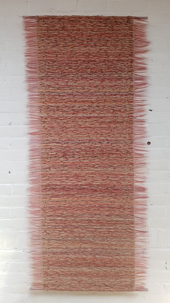 Marianne Kemp – Vibrations – tapestry front