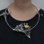 necklace worn